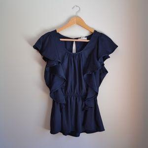 Kenar ruffle blouse